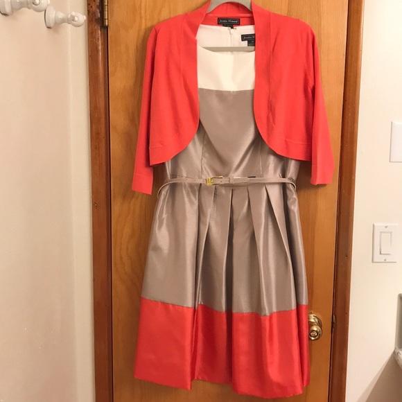 af39618563d9 Jessica Howard Dresses | Womens Dresssweater Size 16 Nwot | Poshmark